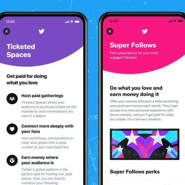 Twitter Super Follows en Ticketed Spaces: betalen voor exclusieve content van populaire accounts
