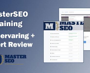 MasterSEO Training de moeite waard? Onze ervaring + 2021 Expert Review!